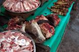 Sheep heads and other cuts of meat, Delhi