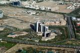 Grand Hyatt and the site of Dubai Healthcare City