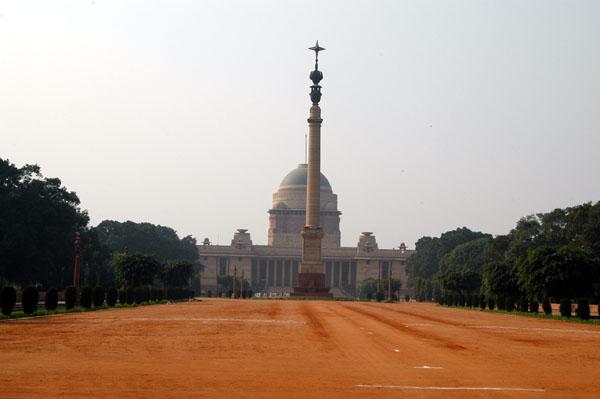 Presidential Palace - Rahtrapi Bhawan - originally the seat of the British viceroy