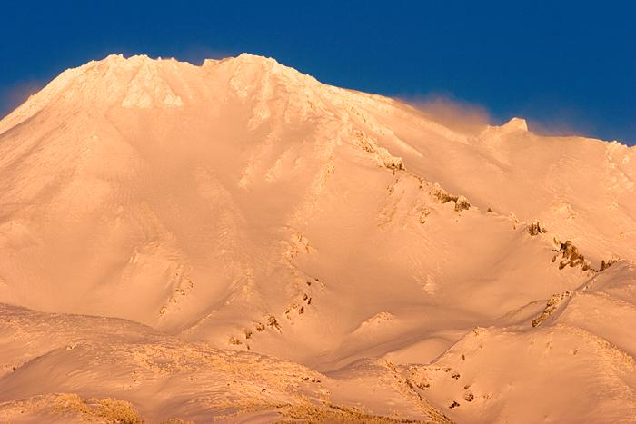 Gold - Glow on Mount Shasta