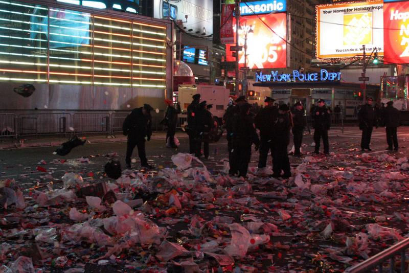 Times Square - aftermath
