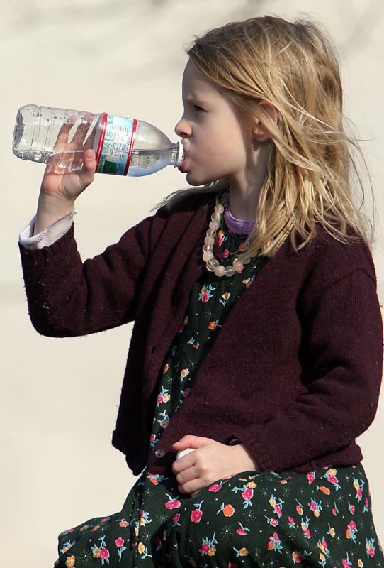 Girl in Washington Square, 1/1/2005
