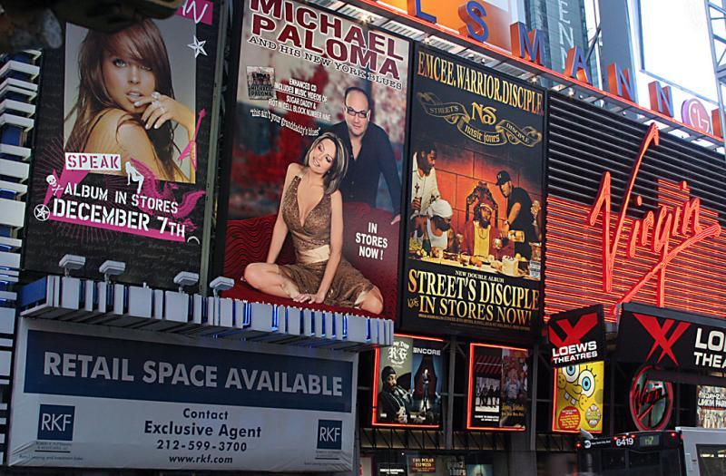 Glitzy Times Square