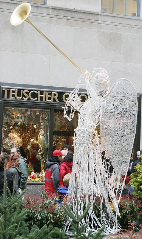 Angel in Rockefeller Center