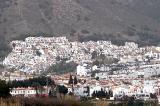 White houses on the hillside
