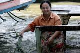 Washing in the Chao Phraya River