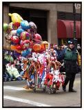 The Christmas Parade opens the season downtown.