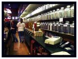 What an array of coffees and teas one can find here!