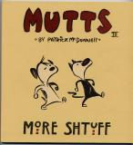 Mutts Three:  More Shtuff (1998) (signed with drawing of Shtinky Puddin)