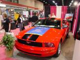 Red Hot Mustang