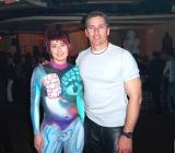 Body painting   airbrush