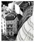 streets of montmartre and sacre coeur