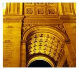 Night at the Arc de Triomphe