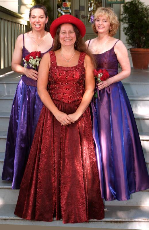 Erin, Linda and Linda