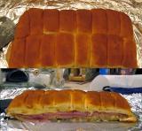 Party Ham Rolls