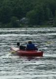 Girl & Dog Kayaking