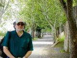 Richard on Viale Carducci in Orvieto