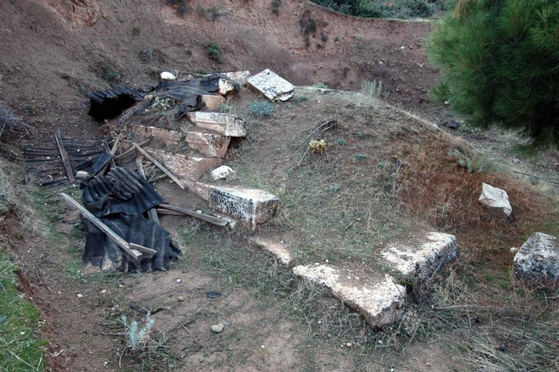 Sardis pyramid grave