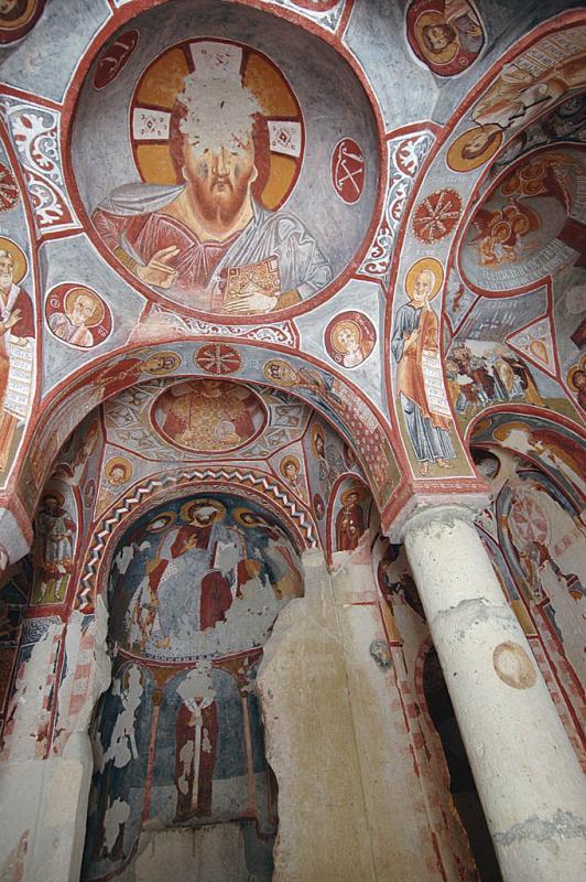 Göreme Museum Elmali Church