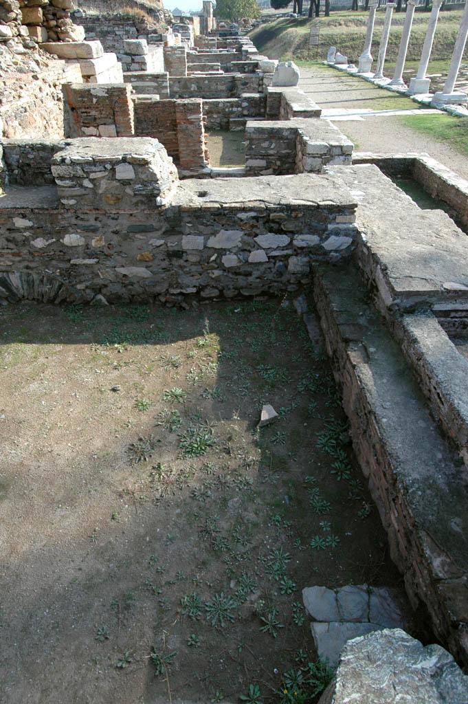 Sardis along Roman road