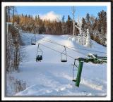 Ski Lift at Lutsen