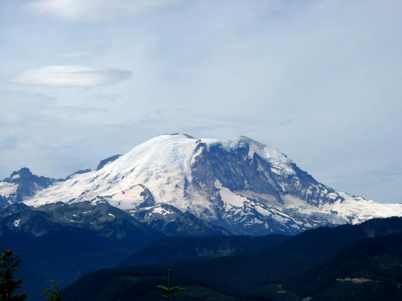 Mt. Rainier from Sun Top <br> Mile 38</br>