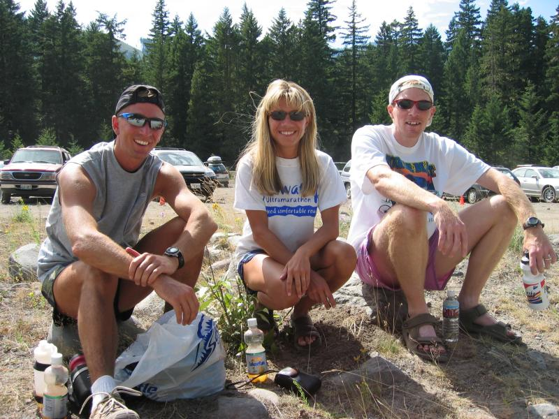 DNF / DNS Club<br>Chris Warren, Lisa Stranc Bliss & Tim Lofton</br>