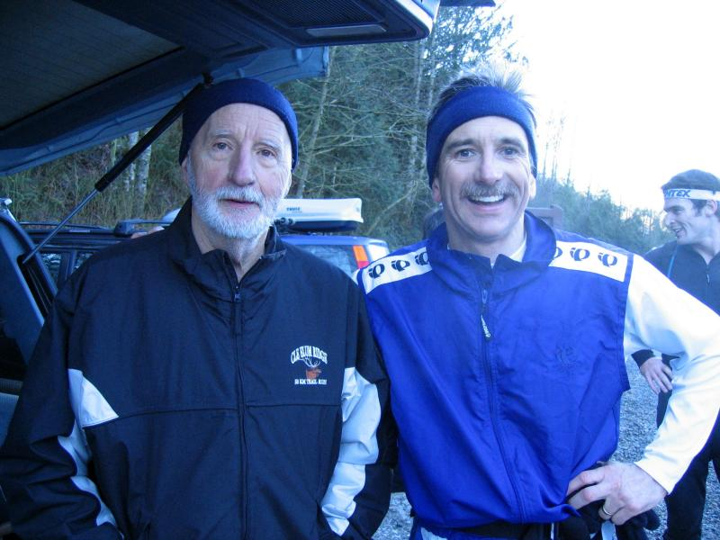 Lary Webster and Kevin Pazaski at High Point Parking Lot