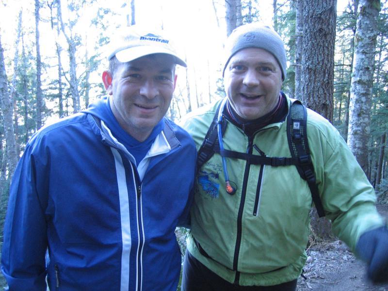 Steve Loitz and Friend