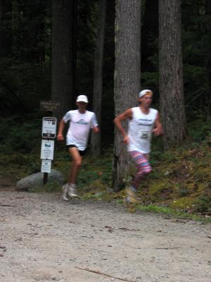 Eric Clifton & Uli Steidl at Buck Creek<br>1.7 miles</br>