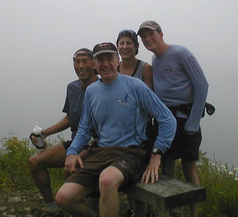 Me, Ron, Kat & Charlie - top of Tiger 1