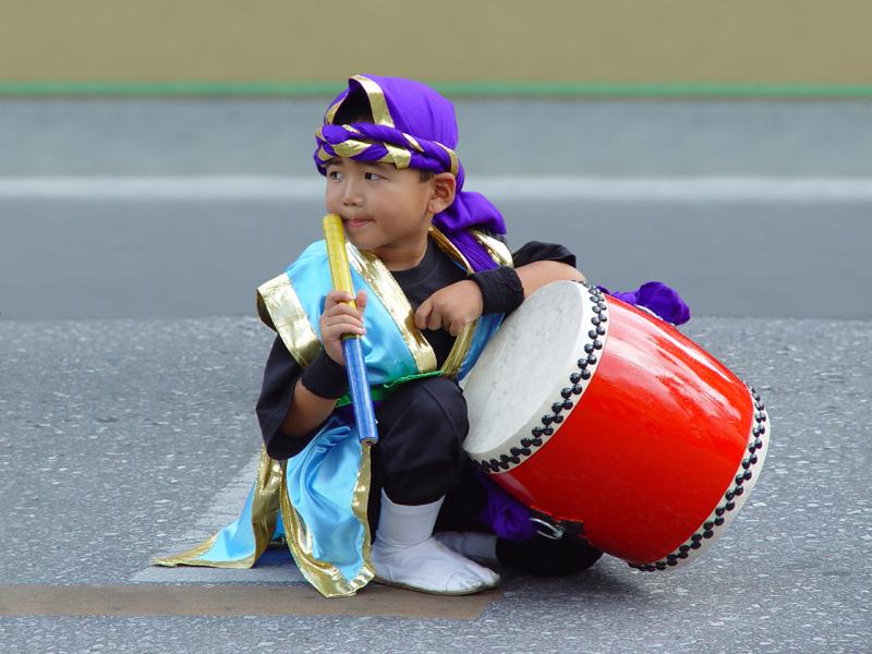 Eisa drummer