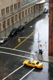 NYU Student Affairs Building on a Rainy Day