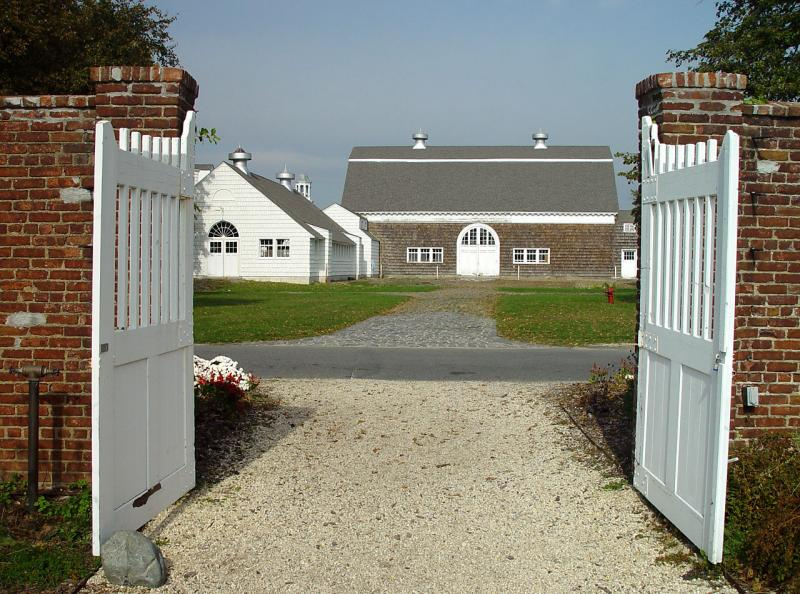 Barns of the former estate of Marshall Field III
