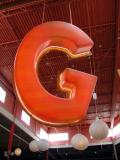 G is for Giant hanging object