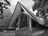 Unitarian Church designed by Frank Lloyd Wright