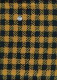 Navy Caramel Wool