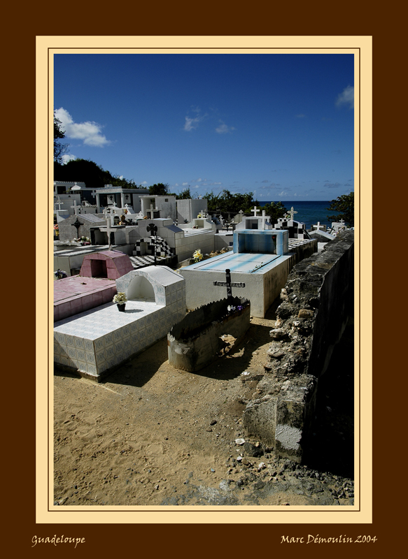 Anse Bertrands graveyard