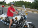 Me on a Policia Mexicana bike