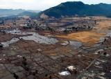 destroyed-village in Sumatra