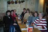 Friday dinner - Cheryl, Debra, Rita, Mary, Karen, Mimi, Carolyne, Trudy