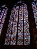 Stain Glass in the La Sainte-Chapelle - Two Thirds are original