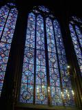 Stain Glass in the La Sainte-Chapelle