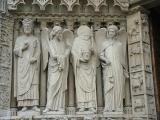 Statues near the Door