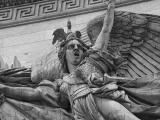 Statues on the Arc de Triomphe
