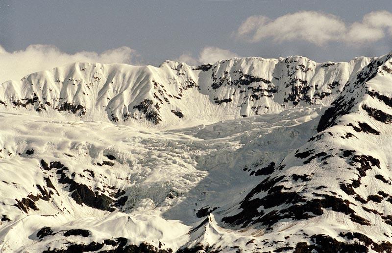 Mountain in Glacier Bay