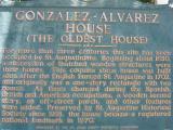 Gonzalez-Alvarez House  (The Oldest House)