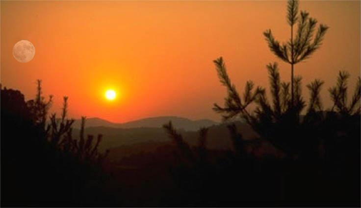 Cumberland Mountain Sunset