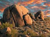 Rocks on Pinnacle Peak