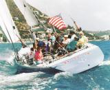 Stars and Stripes in St Maarten March 23, 2005
